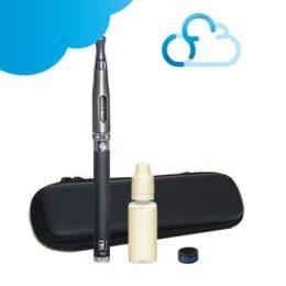Kit cigarette électronique Vision Spinner et clearomiseur Aspire ET-S de chez Apire avec trousse de rangement et e-liquide Ciga France