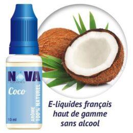 e-liquide Nova Liquides Coco