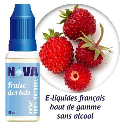 Nova Liquides fraise des bois