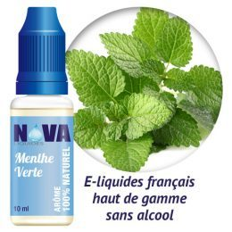 Nova Liquide Menthe Verte
