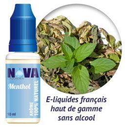 arôme menthol Nova Liquides