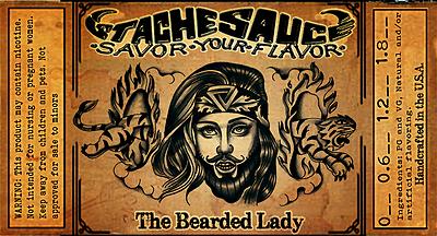 The Bearded Lady Nova Liquides