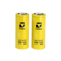 listman-26650-4500-mah-60a