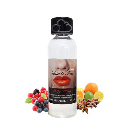 E liquide Suicide Kiss Chewy Juices