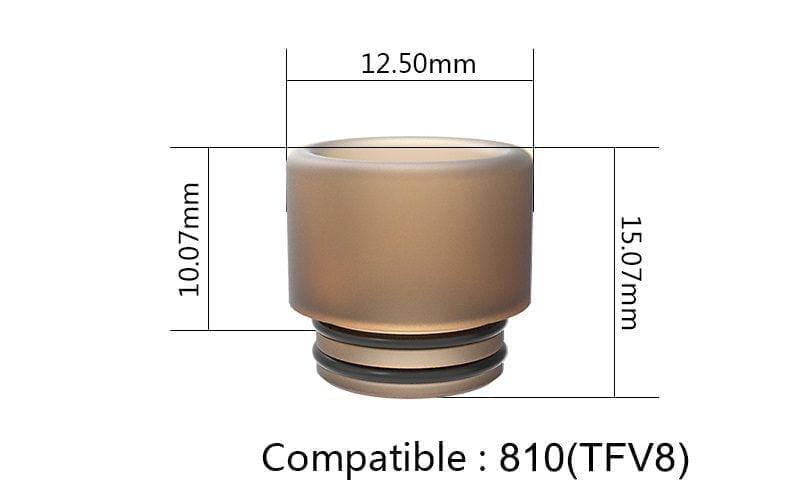 Driptip X_ULTEM 810 FUMYTECH TFV8 GOON