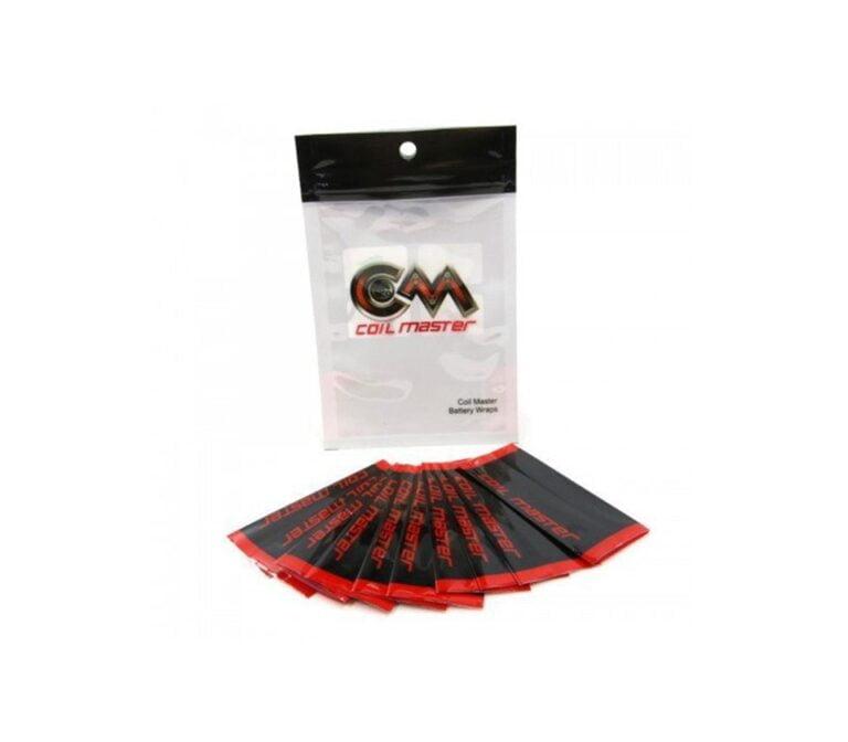 Wraps pour accu cigarette électronique coil master