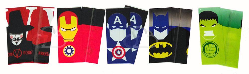 wraps-pour-accu-18650-motif-super-heros