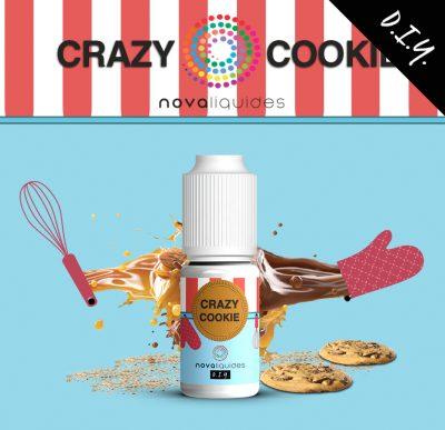 Arôme concentré crazy cookie nova liquides 10ml