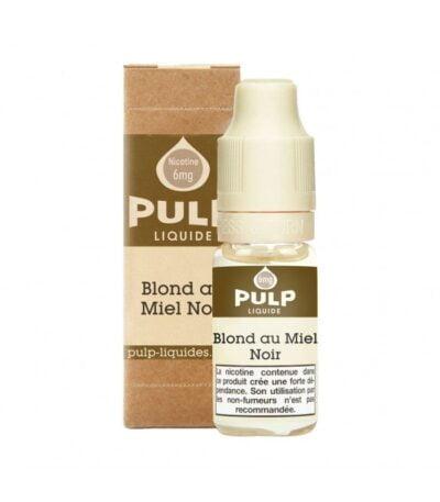 E-liquide blond au miel noir 10 ml Pulp e-liquide