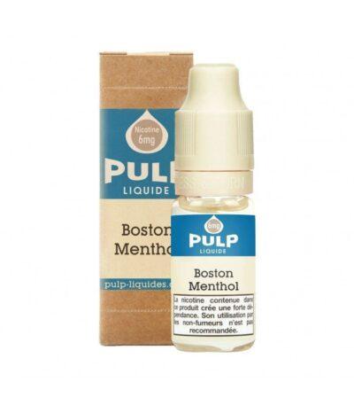 E-liquide classic Boston Menthol 10 ml Pulp e-liquide