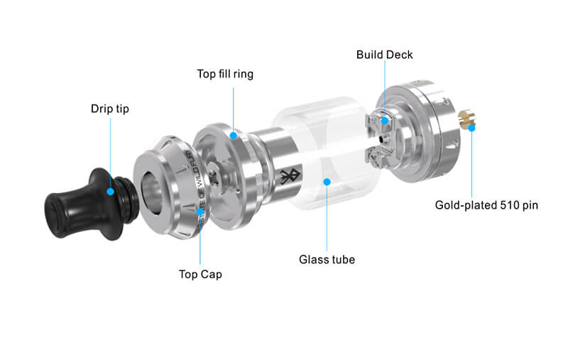 Atomiseur reconstructible Berserker Mini RTA - Vandy Vape