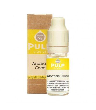 E-liquide Ananas Coco 10ml Pulp Liquide