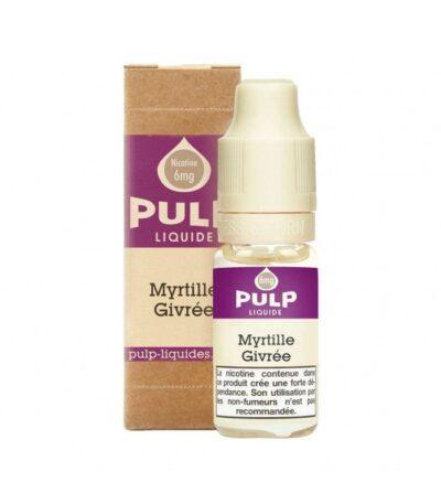 E-liquide Myrtille Givrée 10ml Pulp Liquide