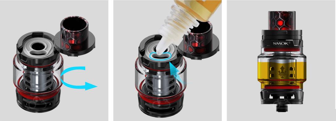 Clearomiseur TFV12 Prince 8ml - Smok