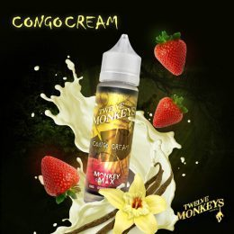 E-liquide Congo Cream 50ml - Twelve Monkeys