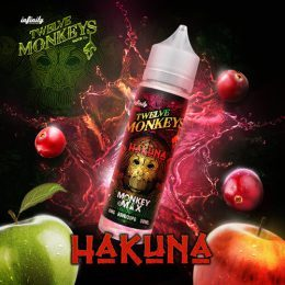 E-liquide Hakuna 50ml - Twelve Monkeys