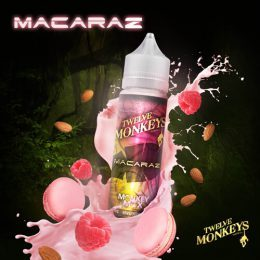 E-liquide Macaraz 50ml - Twelve Monkeys