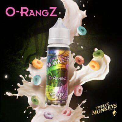 E-liquide O-RangZ 50ml - Twelve Monkeys
