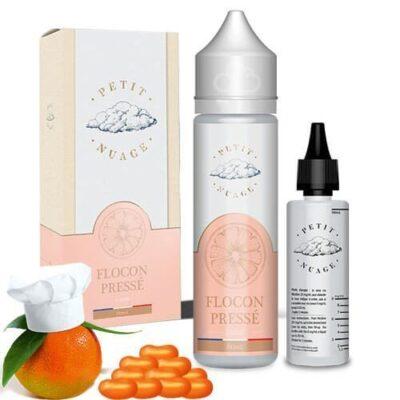 E-liquide Flocon pressé 60ml pour cigarette électronique, gamme Petit Nuage