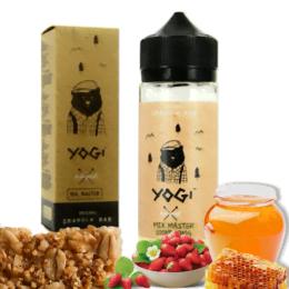 E-liquide pour cigarette électronique de la marque Yogi Strawberry d'une contenance de 100 ml
