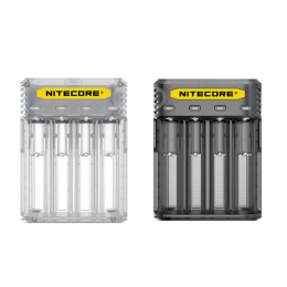 Chargeur Nitecore Q4 pour accus cigarette électronique ciga france