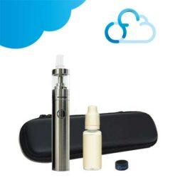 Kit cigarette électronique Ijust Start Plus Eleaf avec une trousse de rangement et un e-liquide sélectionné par Ciga France