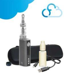 Kit Istick 40w Eleaf nautilus Aspire trousse de rangement et e-liquide avec un vape band ciga france