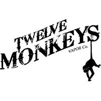 twelve monkeys vapor co logo marque