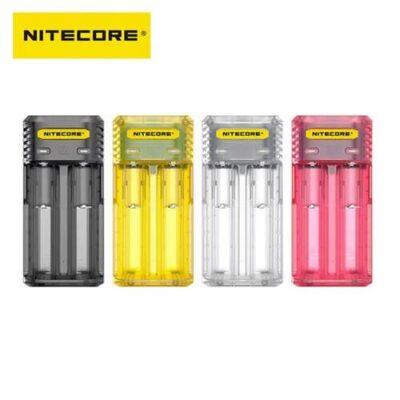 Chargeur Nitecore Q2 pour accus cigarette électronique ciga france