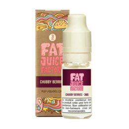 E-liquide Chubby Berries 10 ml fat juice factory pulp liquides ciga france