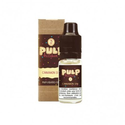 E-liquide Cinnamon Sin 10 ml frost and furious pulp liquides ciga france