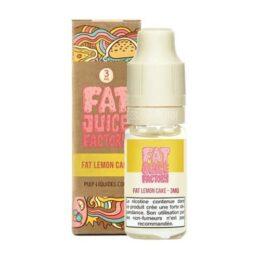 E-liquide Fat Lemon Cake 10 ml fat juice factory pulp liquides ciga france