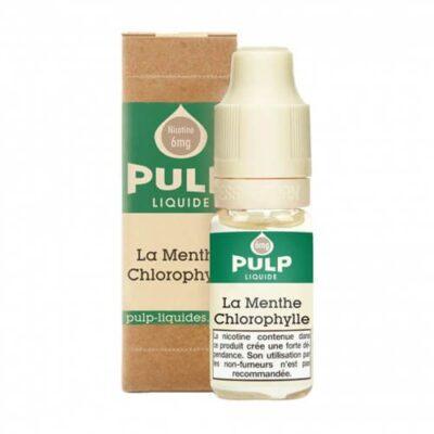 e-liquide menthe chlorophylle 10 ml pulp liquides ciga france