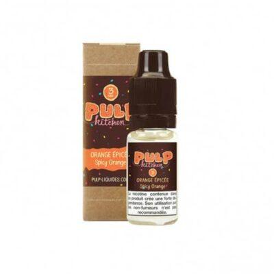 E-liquide orange épicée 10 ml frost and furious pulp liquides ciga france