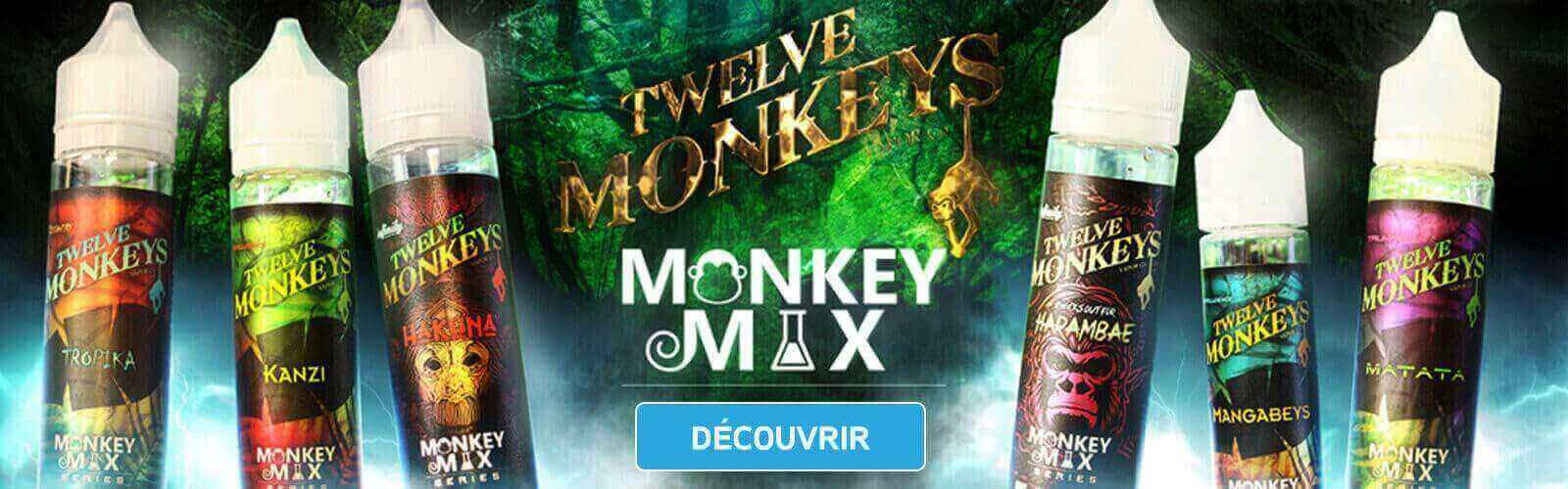 E-liquide Twelve Monkey Vapor Co. Ciga France