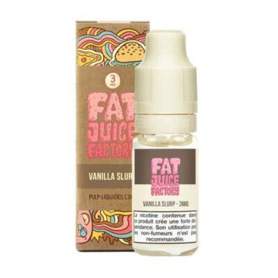 E-liquide Vanilla Slurp 10ml Fat Juice Factory Pulp Liquides Ciga France