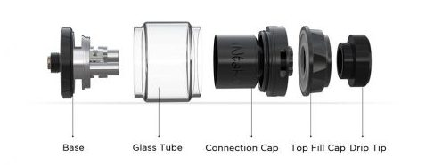 Intake rta augvape 24 mm element