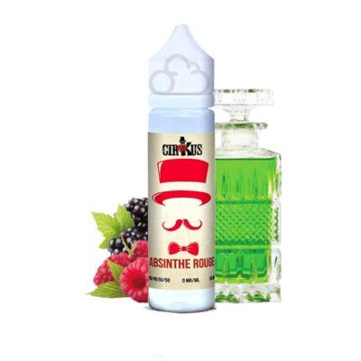 e liquide absinthe rouge 50 ml vdlv cirkus authentic