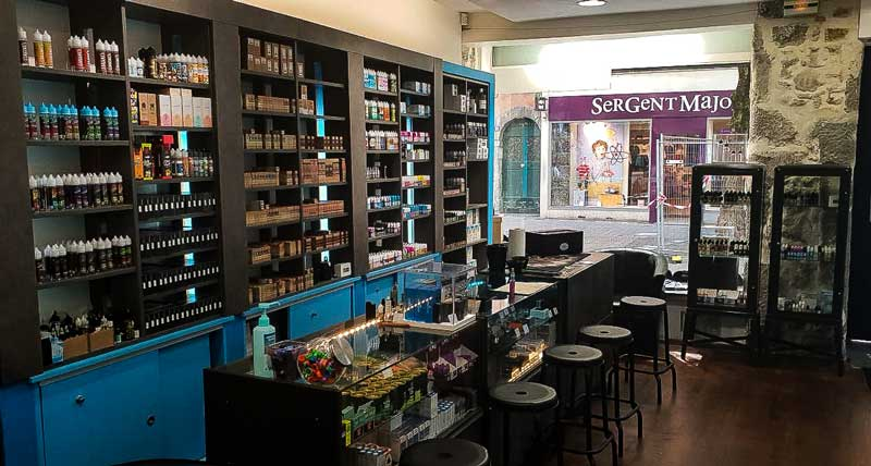 Boutique e-cigarette Ciga France au centre ville de Grenoble