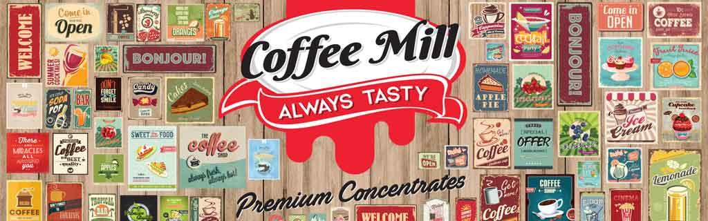 concentrés DIY hauts de gamme Coffee Mill
