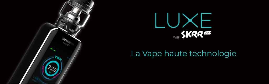 Kit cigarette électronique Luxe de Vaporesso