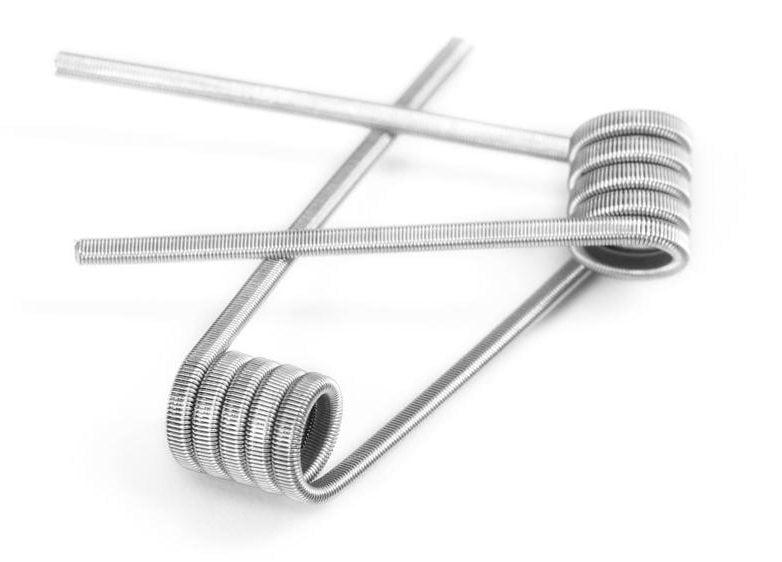 WOTOFO DUAL CORE FUSED CLAPTON coils NI80 0.28OHM