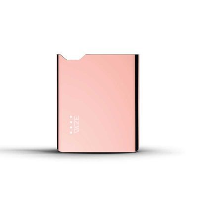 Batterie Vaze rose gold