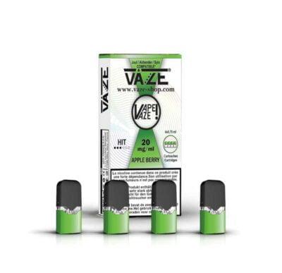 cartouche e-liquide apple berry batterie vaze