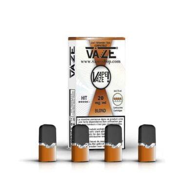 cartouche e-liquide blond batterie vaze