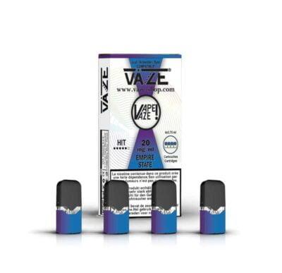 cartouche e-liquide empire state batterie vaze