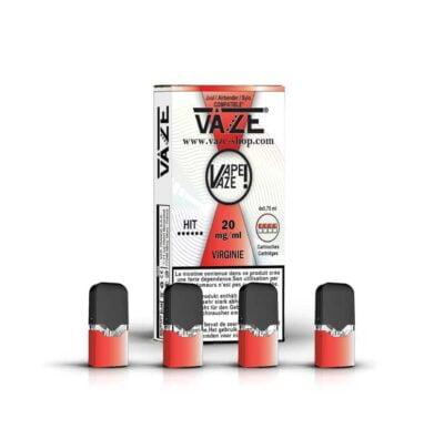 cartouche e-liquide virginie batterie vaze