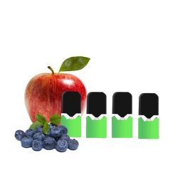 cartouches e-liquide batterie vaze apple berry