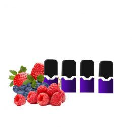 cartouche e-liquide batterie vaze red fruits