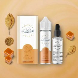 e-liquide belle feuille 50 ml de Petit Nuage